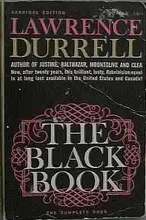 The Black Book Lawrence Durrell 1962 Cardinal Paperback