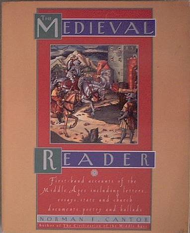 The Medieval Reader Norman Cantor 1995 Soft Cover