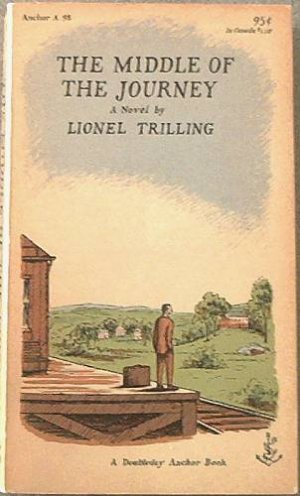 The Middle of the Journey Lionel Trilling 1957 Paperback