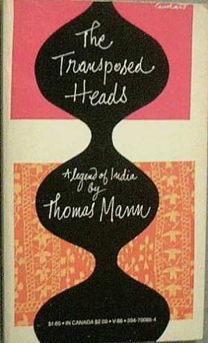 Transposed Heads Thomas Mann c1969 Paperback