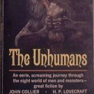 The Unhumans Various Authors 1965 Paperback