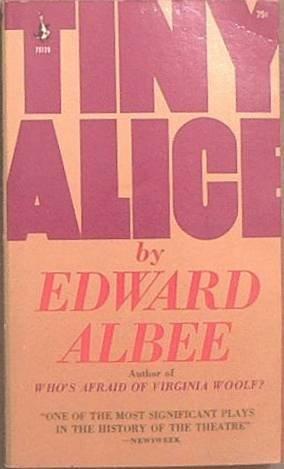 Tiny Alice Edward Albee 1967 Paperback