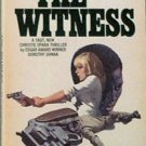 The Witness Dorothy Uhnak c1969 Paperback