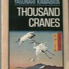 Thousand Cranes Yasunari Kawabata 1965 Paperback