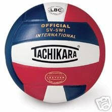 TACHIKARA SV-5WI INTERNATIONAL VOLLEYBALL NEW volley balls