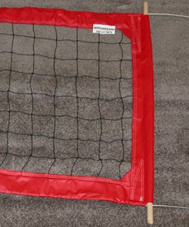 PROFESSIONAL VOLLEYBALL NET with FOUR INCH TAPES NEW