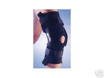 MUELLER PRO LEVEL TRIAXIAL HINGED KNEE BRACE DELUXE LARGE
