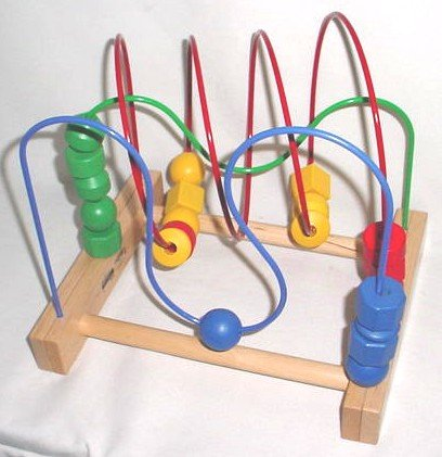 Wooden Roller Coaster Toy
