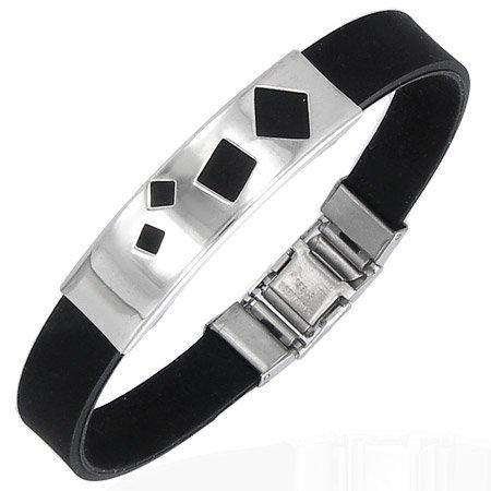 Squared Stainless Bracelet