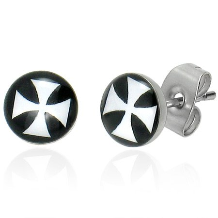 Pirate X Stainless Earrings