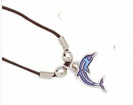 New Dolphin Pendant Necklace