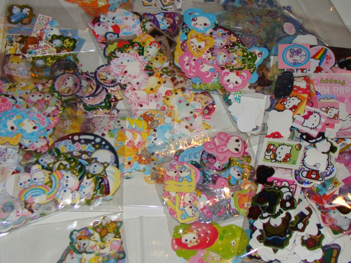 50 Randomly chosen kawaii stickers