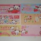 Kamio Strawberry Panda bill style memos