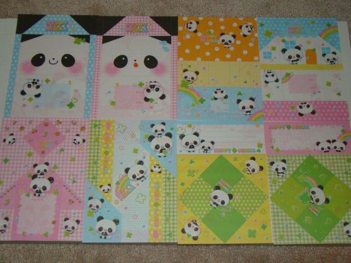 Kamio Happy Panda origami style loose sheets