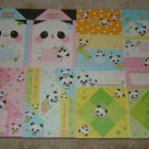 Kamio Happy Panda origami style loose sheets