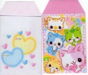 Crux Rainbow Kitties handmade envies