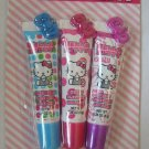 Hello Kitty 3 pc Flavored Lipgloss