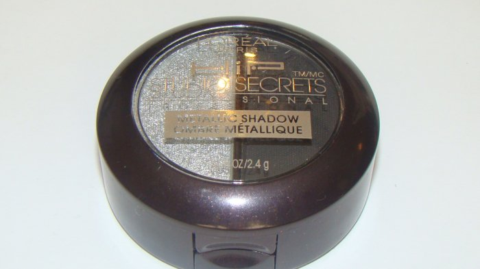 "L'Oreal High Intensity Pigment Studio Secrets Metallic Eye Shadow Duo ""Platinum"""