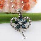 #418 Natural Sapphire Pendant
