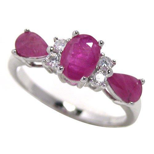 #2375 Natural Ruby Ring