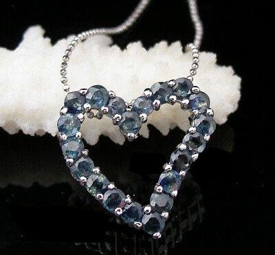 #1915 Natural Sapphire Pendant