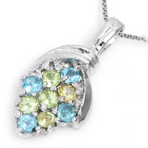 #2339 Rainbow Gemstone Pendant