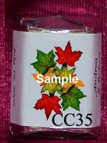 150 Wedding Bridal Shower Fall Autumn Leaves Themed Nugget Candy Wrappers