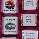 150 MONSTER TRUCKS THEMED BIRTHDAY PARTY CANDY Wrappers Favors
