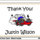 Kid RACE CAR CARS Birthday Thank You Cards Notes Kids