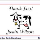Kid FARM ANIMALS Birthday Thank You Cards Notes Kids