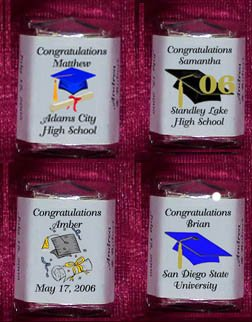150 GRADUATION 2007 Candy Custom Wrappers PARTY Favors