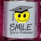150 GRADUATION SMILEY FACE Candy Custom Wrappers PARTY Favors