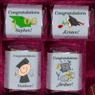 * 150 GRADUATION 2007 Candy Custom Wrappers PARTY Favors