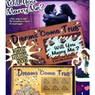 Will You Marry Me Lotto Ticket  7858-07