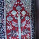 """THE TREE OF LIFE "" antique wool rug 4 x 6"