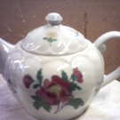 LAURA ASHLEY TEAPOT - PORCELAIN - ROSE  -  NEW ITEM
