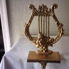 NEW CAST IRON GOLD HARP SHELVE HOOK - GREAT ITEM