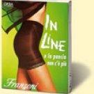 In Line Panties Tummy Flattening Black Size Medium Italy