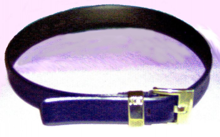 BLACK CROC EMBOSSED GENUINE LEATHER BELT BY THE LIMITED .....MADE IN ITALY