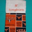 Lil' Longhorn Burp Cloth