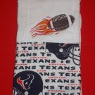 Football Texans Burp Cloth