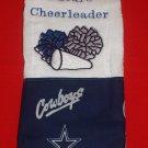Future Cheerleader Dallas Cowboys Burp Cloth