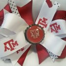 Boutique Texas A&M (Aggie) Bottle Cap Hair Bow