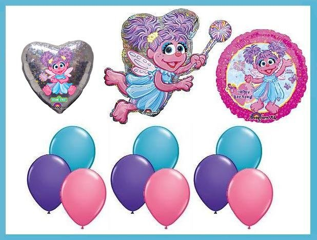 Abby Cadabby balloon kit Sesame Street party supplies