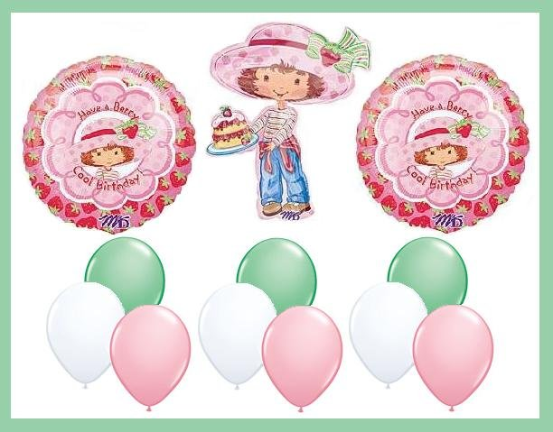 Strawberry Shortcake Birthday Balloon Kit - supplies