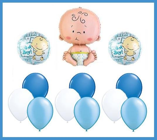 It's a boy Baby Shower Balloon Set - party supplies