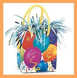 Birthday Party Balloon Gift Bag Balloon Weight supplies
