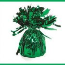 Green foil Balloon Weight party supplies/decorations
