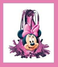 Minnie Mouse Balloon Weight - purple - 6oz.