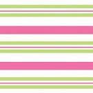 Pink & Green striped cello sheet gift bag wrap supplies